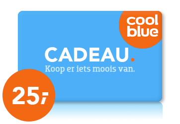 Coolblue € 25,00