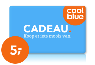 Coolblue € 5,00
